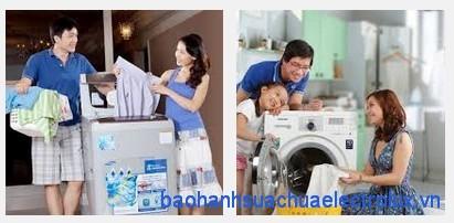 Máy giặt làm sạch quần áo theo cơ chế nào?