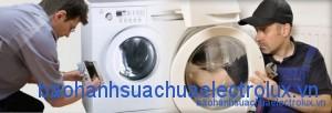 làm cho thế nào khi nước không chảy vào thùng giặt? sua chua may giat