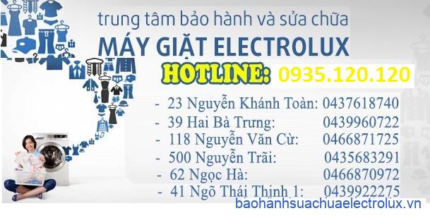 Trung tâm bảo hành electrolux Hà Nội