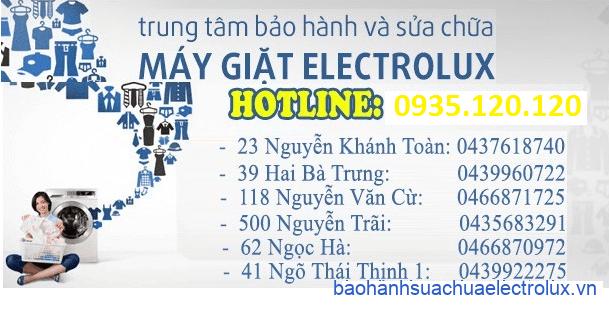 Trung tâm bảo hành – sửa chữa electrolux tại Hà Nội