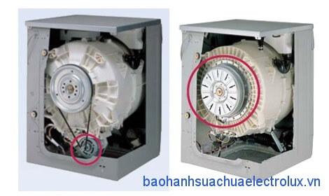 Máy giặt truyền động gián tiếp và trực tiếp có gì khác nhau