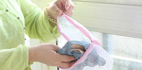giặt áo lót bằng máy giặt